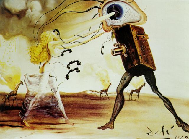 Modern Rhapsody, 1957 - Salvador Dali