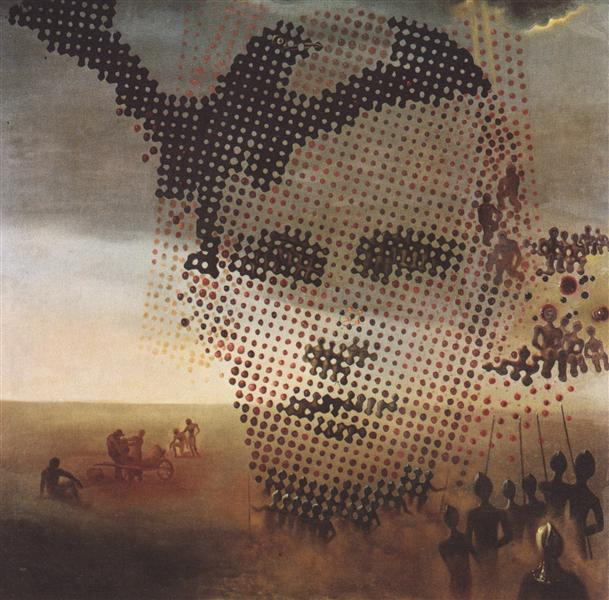 Portrait of My Dead Brother, 1963 - Salvador Dali