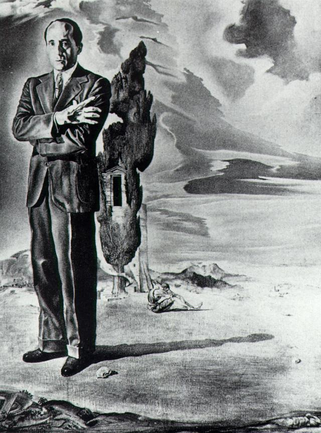 Portrait of the Marquis De Cuevas, 1942