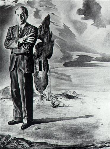 Portrait of the Marquis De Cuevas - Salvador Dali