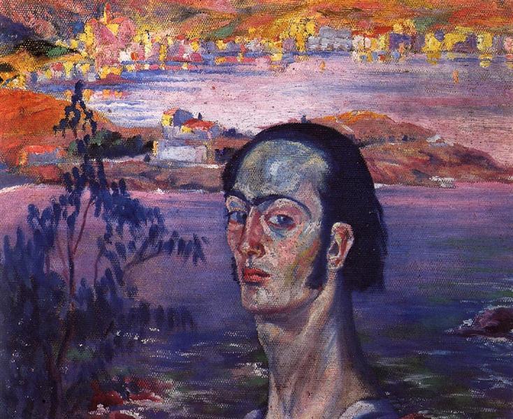 Self-Portrait with Raphaelesque Neck, 1921 - 1922 - Salvador Dali