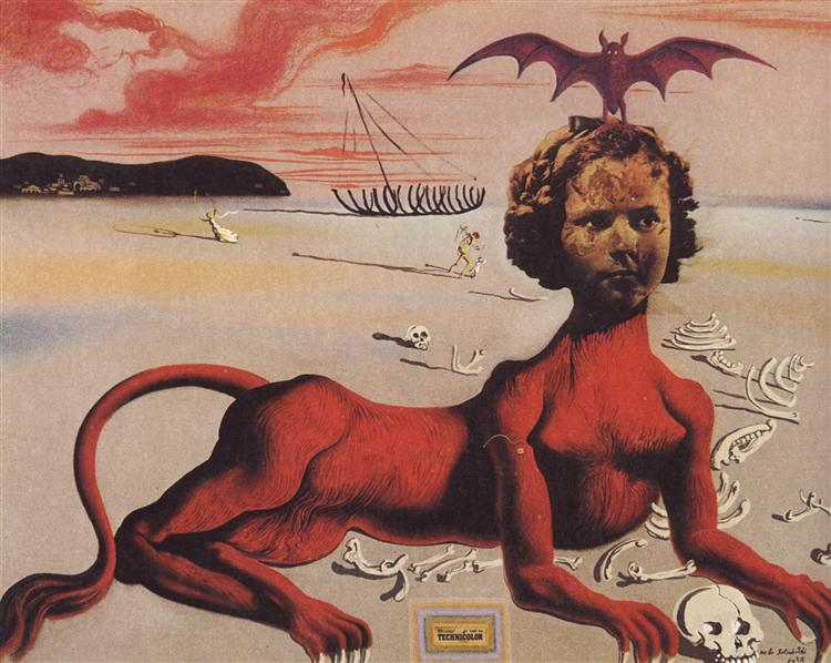Shirley Temple - Salvador Dali