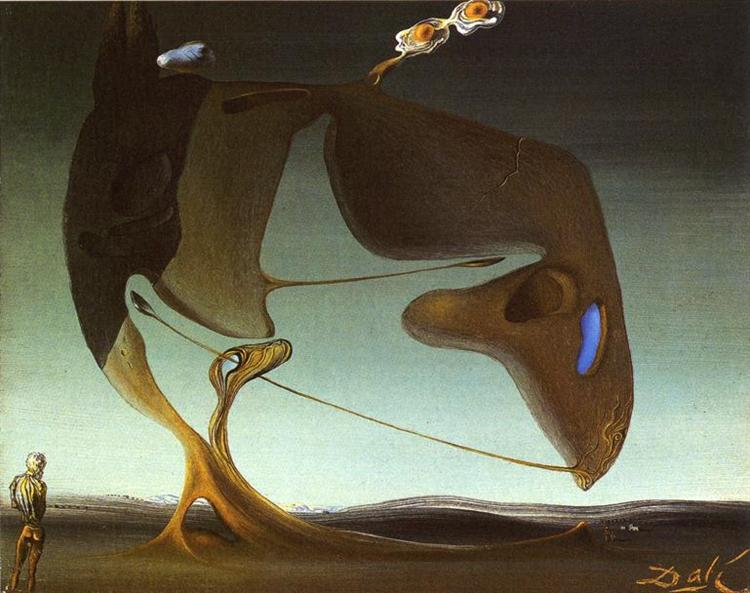 Surrealist Architecture, c.1932 - Salvador Dali