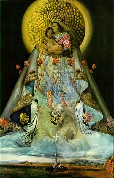 The Virgin of Guadalupe, 1959 - Salvador Dalí