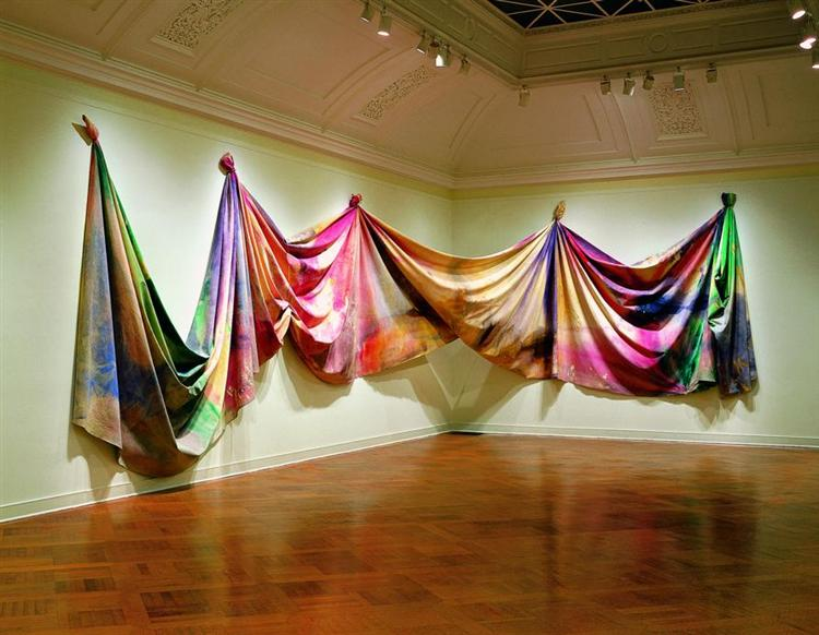 Light Depth - Sam Gilliam