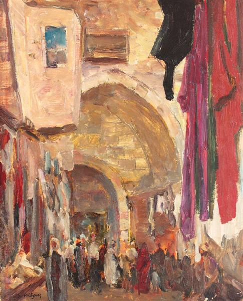 Quarter in Tunis, 1920 - Samuel Mutzner
