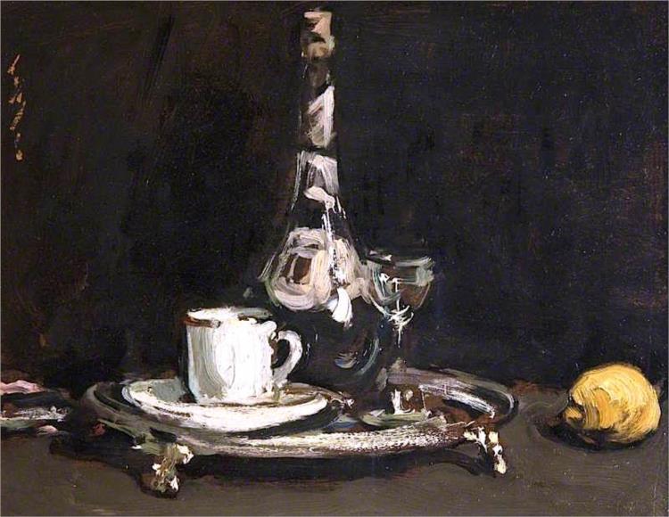 Coffee and Liqueur, 1905 - Samuel Peploe