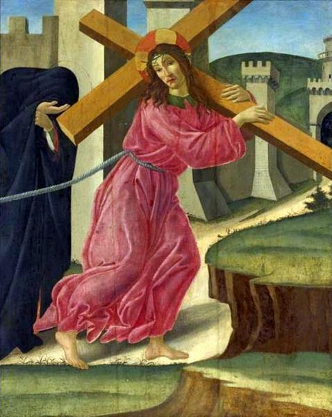 Christ Carrying the Cross, c.1490 - Sandro Botticelli