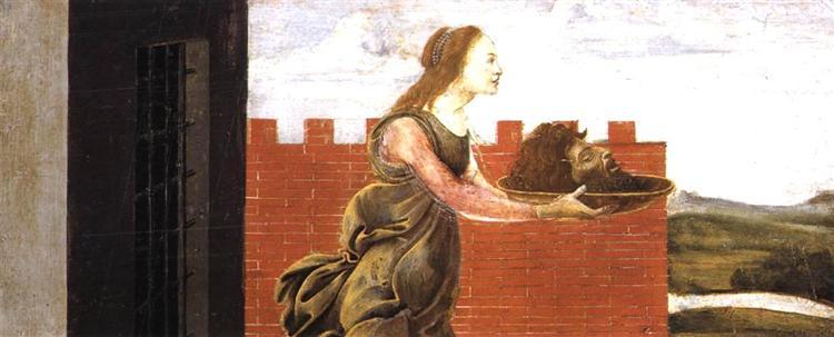 Salome with the Head of St John the Baptist, c.1488 - Sandro Botticelli