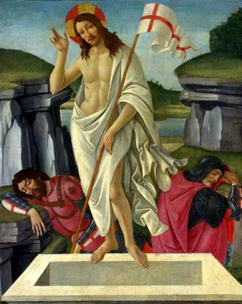 The Resurrection, c.1490 - Sandro Botticelli