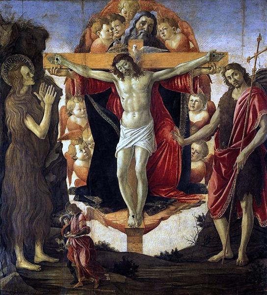 Trinity, 1491 - Sandro Botticelli