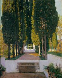 Gardens of the Generalife - Santiago Rusiñol