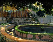 Jardín de las Elegías, Son Moragues - Santiago Rusiñol