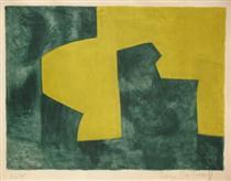 Composition verte et jaune - Серж Поляков