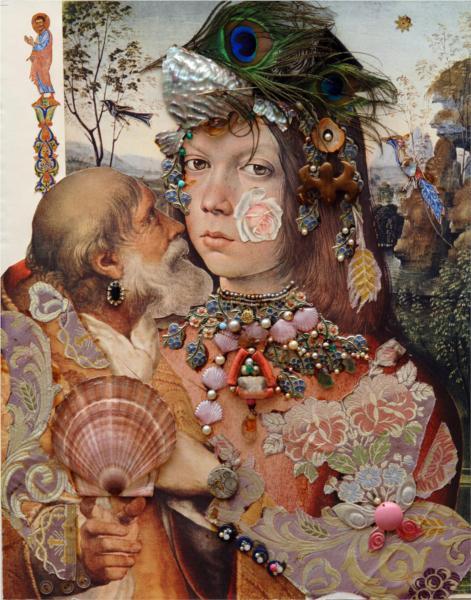 Repentance.Variation on  themes by Pinturicchio and Raphael.(dedicated to Vasily Katanyan), 1989 - Sergei Parajanov