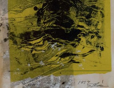 Untitled, 1954 - Shozo Shimamoto