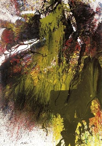 Untitled, 1991 - Shozo Shimamoto