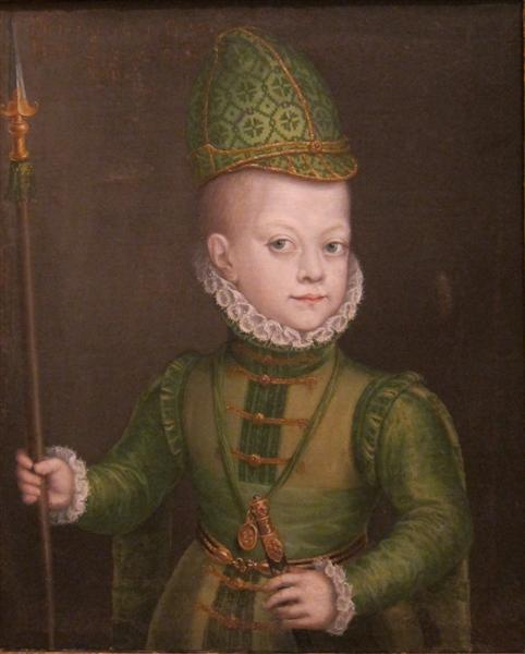 Portrait of a Boy at the Spanish Court, 1570 - Sofonisba Anguissola