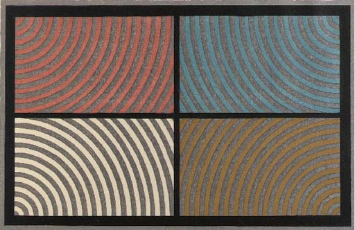 Arcs from Four Corners, 1986 - Sol LeWitt