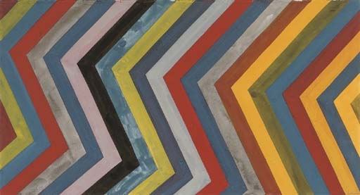 Irregular Bands with Colors Superimposed, 1991 - Sol LeWitt