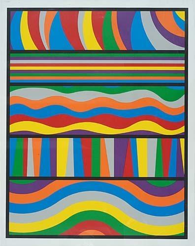 Linear Composition - Sol LeWitt