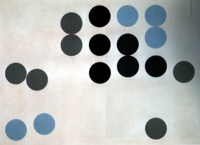 Moving Circles, 1933 - Sophie Taeuber-Arp
