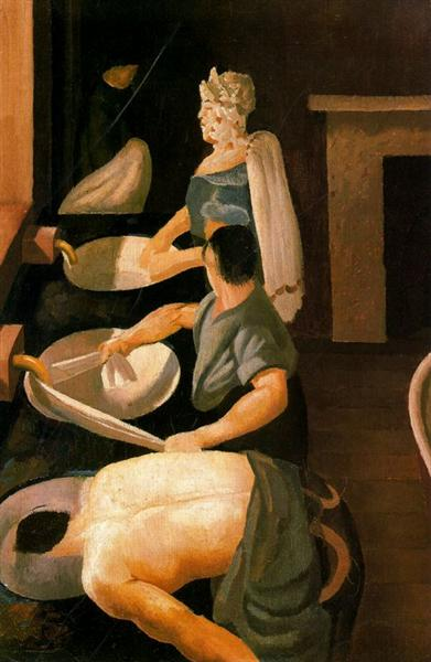 Soldiers Washing, 1927 - Stanley Spencer