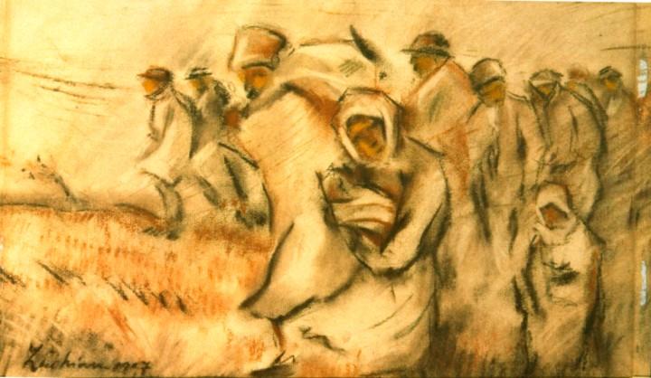 Insurgent Peasants - Stefan Luchian