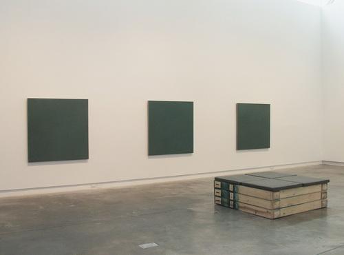 Monochrome Painting: A Posteriori Prototype: Average Size, 1994 - Stephen Prina