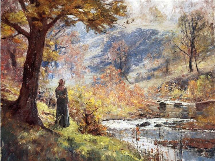 Morning by the Stream, 1893 - T. C. Steele