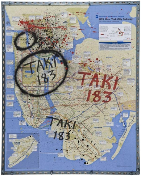 New York City Subway Map - TAKI 183