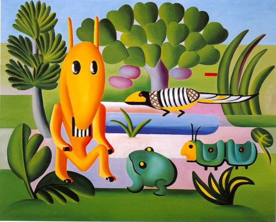 A Cuca, 1924 - Tarsila do Amaral