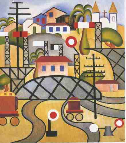 E.F.C.B. (Estrada de Ferro Central do Brasil), 1924 - Тарсіла ду Амарал