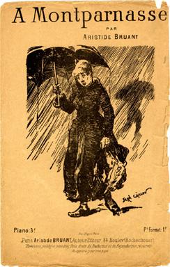 A Montparnasse, 1884 - Теофіль Стейнлен
