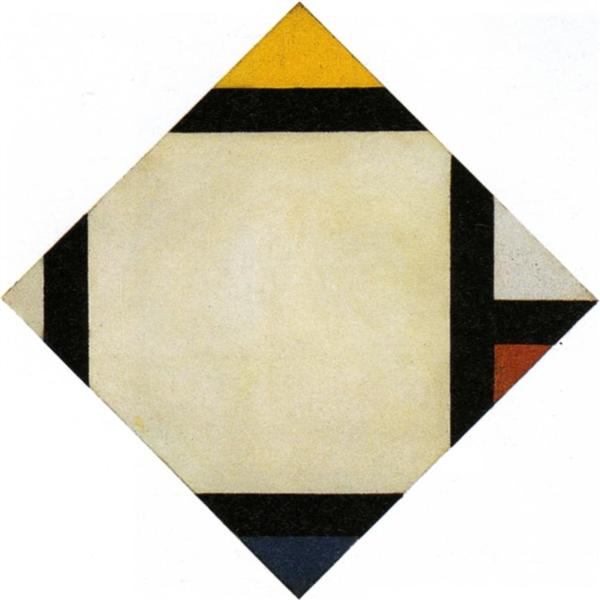 Counter composition VII, 1924 - Theo van Doesburg