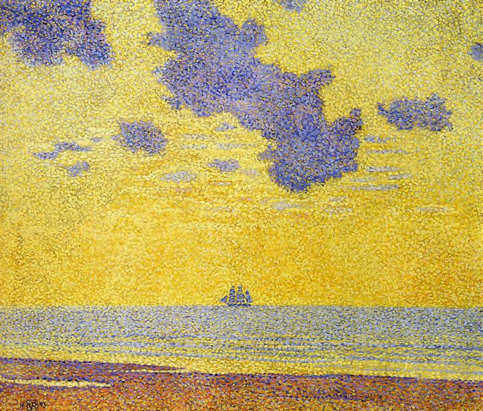 Big Clouds, 1893 - Theo van Rysselberghe