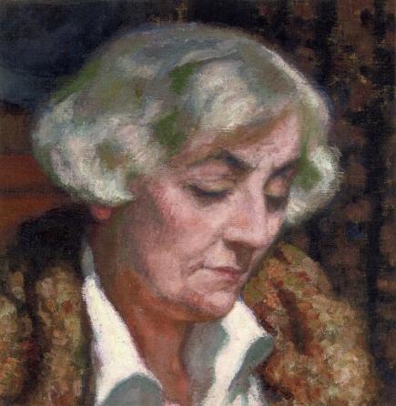 Portrait of Maria van Rysselberghe - Theo van Rysselberghe