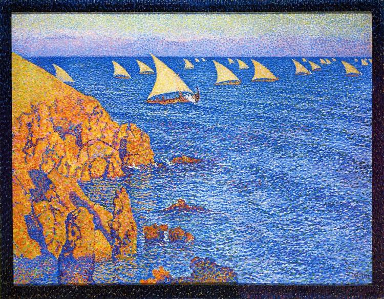 The Regata, 1892 - Theo van Rysselberghe