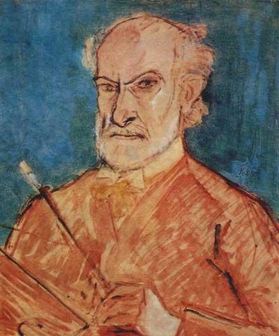 Self-Portrait - Теодор Паллади