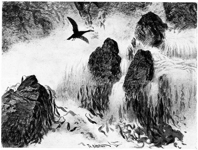 Brenning - Theodor Severin Kittelsen