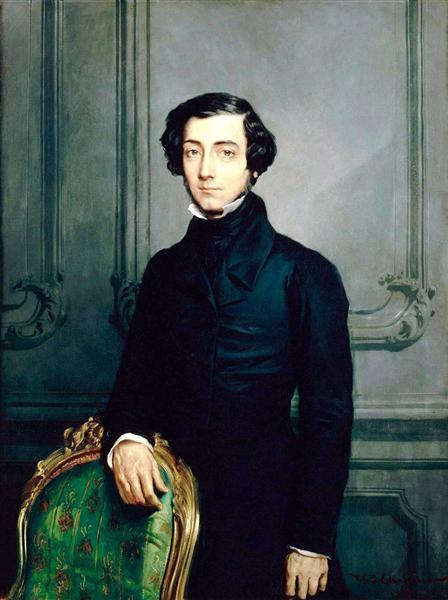 Alexis de Tocqueville, 1850 - Theodore Chasseriau