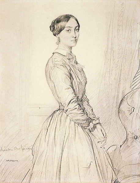 Portrait of Mme Borg de Balsan, 1847 - Theodore Chasseriau