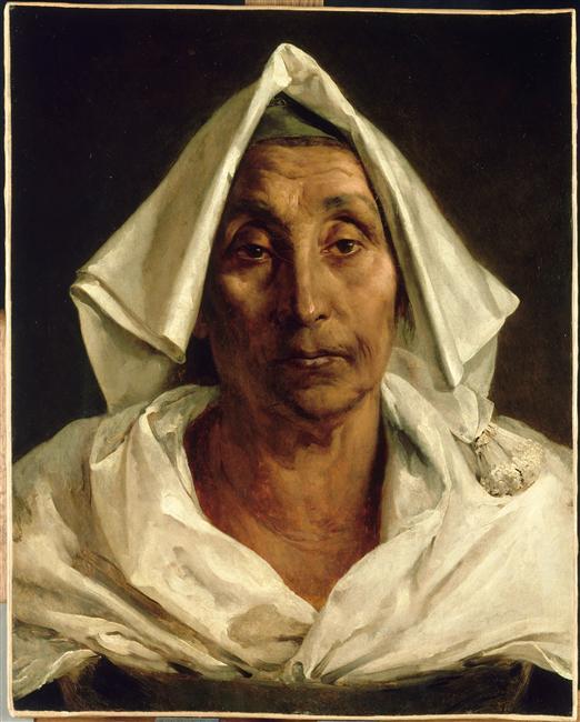 <b>Old Italian</b> peasant - Theodore Gericault - old-italian-peasant