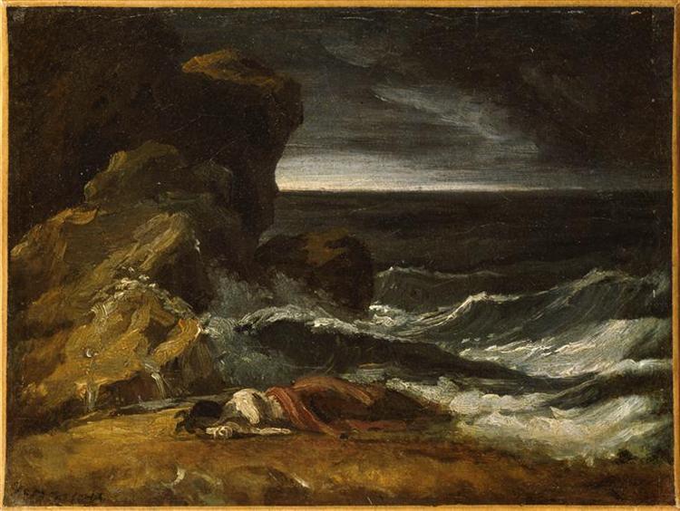 Shipwreck, 1821 - 1824 - Théodore Géricault