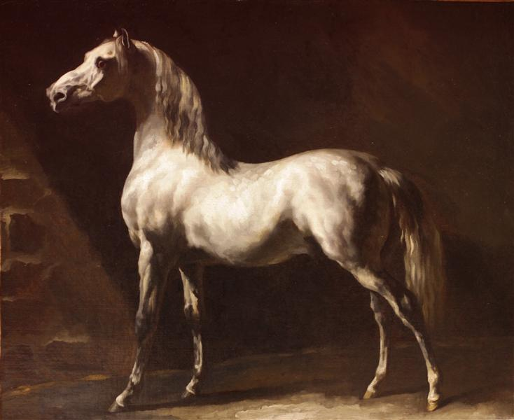 Study of a Dapple Grey, 1812 - 1824 - Théodore Géricault
