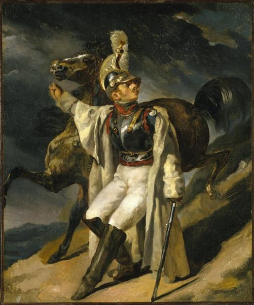 The Wounded Cuirassier, 1814 - Теодор Жерико