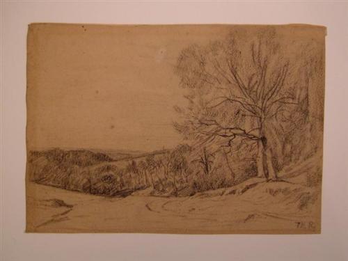 Landscape - Theodore Rousseau