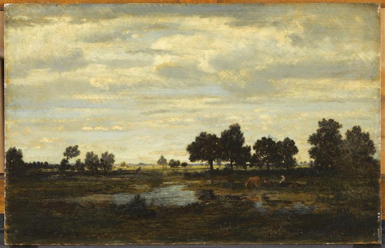 Landscape - Theodore Rousseau - WikiArt.org Theodore Rousseau