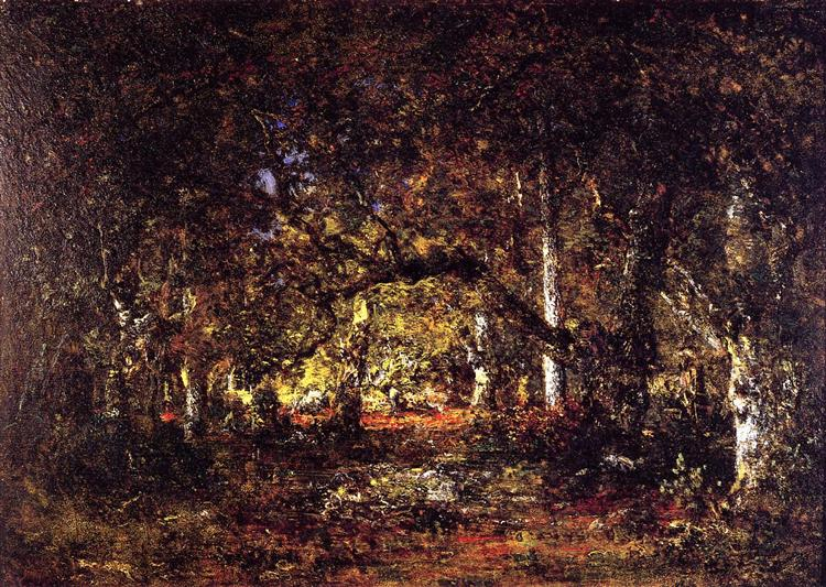 Inside the forest, 1857 - Theodore Rousseau