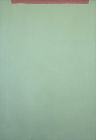 Transparent Green Sun-Box, 1970 - Theodoros Stamos